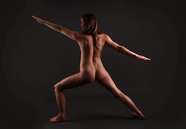 Nackt Yoga