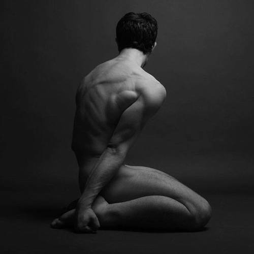 Nudist yoga male photos #12